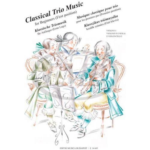 EMB (EDITIO MUSICA BUDAPEST) PEJTSIK A. - CLASSICAL TRIO MUSIC - VIOLON ET VIOLONCELLE