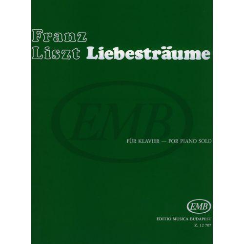EMB (EDITIO MUSICA BUDAPEST) LISZT F. - REVES D'AMOUR - PIANO