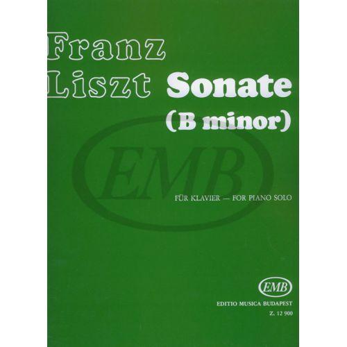 EMB (EDITIO MUSICA BUDAPEST) LISZT F. - SONATA SI M. - PIANO