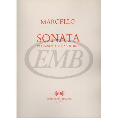 EMB (EDITIO MUSICA BUDAPEST) MARCELLO B. - SONATA - BASSON ET PIANO