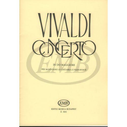 EMB (EDITIO MUSICA BUDAPEST) VIVALDI A. - CONCERTO IN DO RV 425 - MANDOLINE ET PIANO