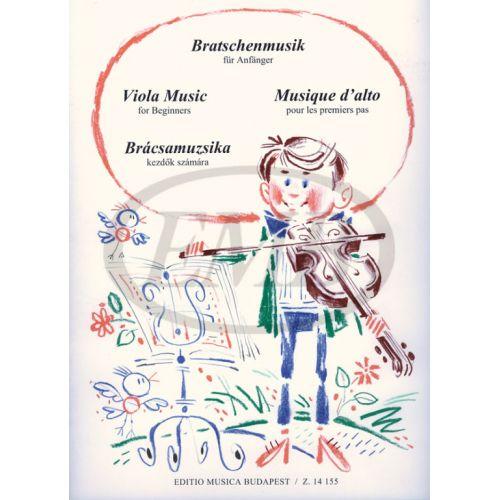 EMB (EDITIO MUSICA BUDAPEST) VIOLA MUSIC FOR BEGINNERS - ALTO