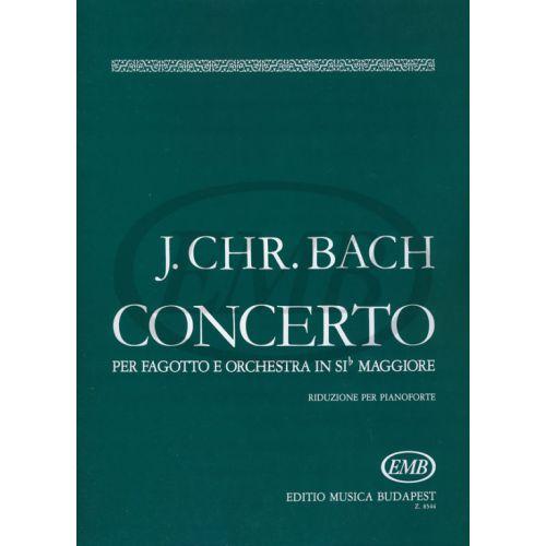 EMB (EDITIO MUSICA BUDAPEST) BACH J.S. - CONCERTO SI B - BASSON ET PIANO