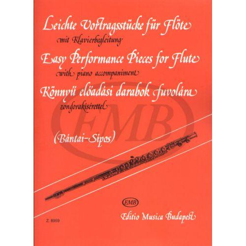EMB (EDITIO MUSICA BUDAPEST) PEZZI DA CONCERTO FACILI (BANTAI/SIPOS)