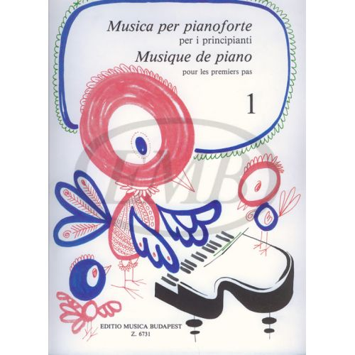 EMB (EDITIO MUSICA BUDAPEST) MUSICA PER PRINCIPIANTI - PIANO