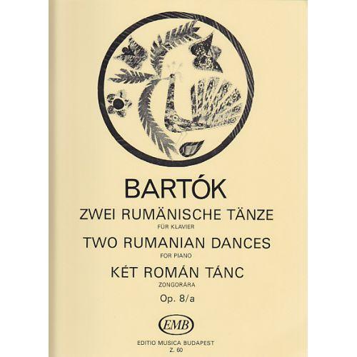 EMB (EDITIO MUSICA BUDAPEST) BARTOK B. - ZWEI RUMÄNISCHE TÄNZE OP. 8/A - PIANO