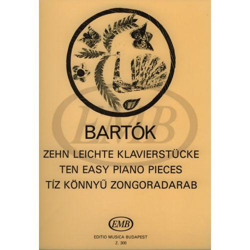 EMB (EDITIO MUSICA BUDAPEST) BARTOK B. - PEZZI FACILI (10) - PIANO