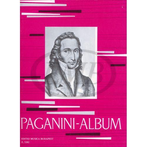 EMB (EDITIO MUSICA BUDAPEST) PAGANINI N. - ALBUM (NEY) - VIOLON ET PIANO