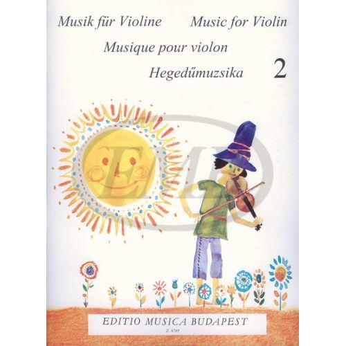 EMB (EDITIO MUSICA BUDAPEST) MUSICA PER PRINCIPIANTI VOL.2 - VIOLON ET PIANO