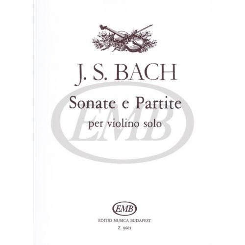 EMB (EDITIO MUSICA BUDAPEST) BACH J.S. - SONATE E PARTITE (6) - VIOLON
