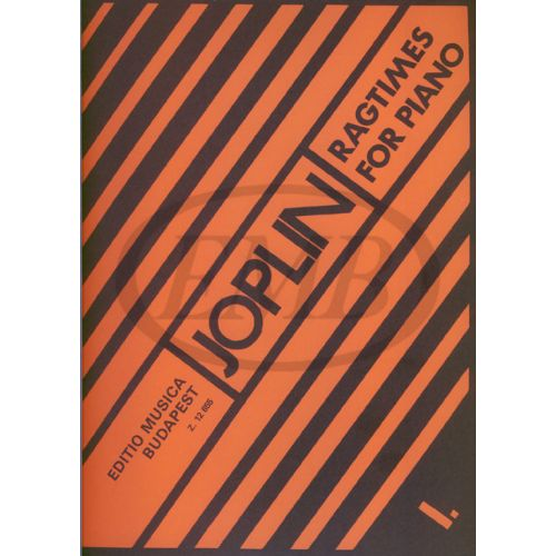 EMB (EDITIO MUSICA BUDAPEST) JOPLIN S. - RAGTIMES VOL. 1 - PIANO