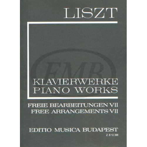EMB (EDITIO MUSICA BUDAPEST) LISZT F. - FREE ARRANGEMENTS VOL 7 - PIANO