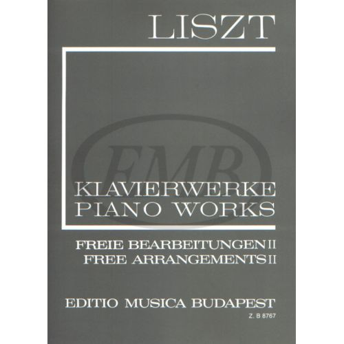 EMB (EDITIO MUSICA BUDAPEST) LISZT F. - FREE ARRANGEMENTS VOL 2 - PIANO