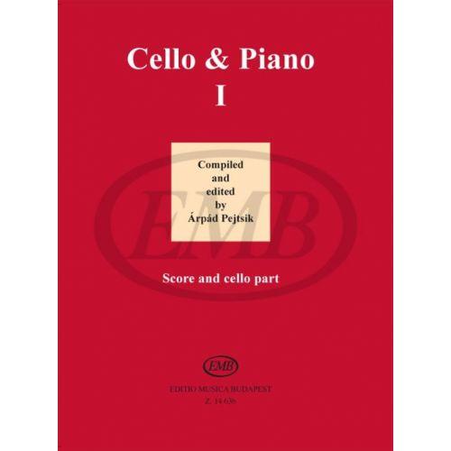 EMB (EDITIO MUSICA BUDAPEST) PEJTSIK - CELLO & PIANO I