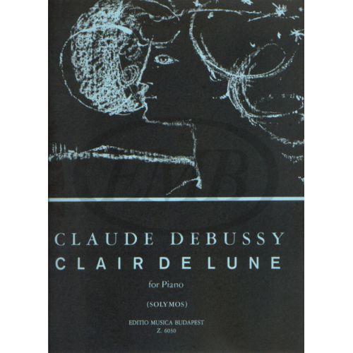 EMB (EDITIO MUSICA BUDAPEST) DEBUSSY C. - CLAIR DE LUNE - PIANO SOLO