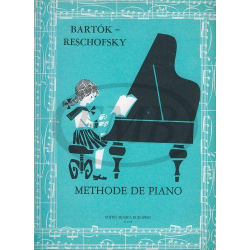 EMB (EDITIO MUSICA BUDAPEST) BARTOK - METHODE DE PIANO FRANCAISE