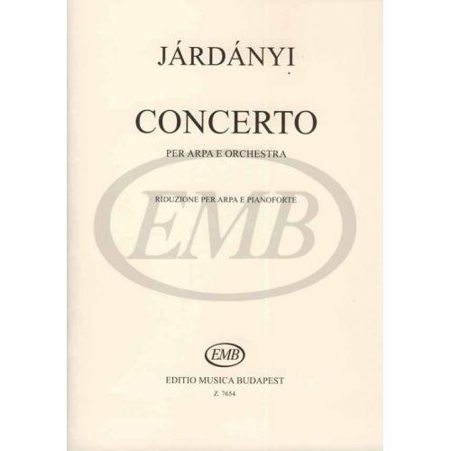 EMB (EDITIO MUSICA BUDAPEST) JARDANYI - HARP CONCERTO - PIANO