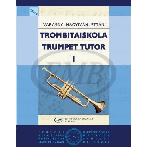 EMB (EDITIO MUSICA BUDAPEST) VARASDY - TRUMPET TUTOR V1 - TRUMPET SOLO