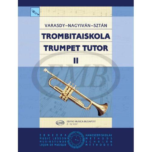 EMB (EDITIO MUSICA BUDAPEST) VARASDY - TRUMPET TUTOR V2 - TROMPETTE SOLO