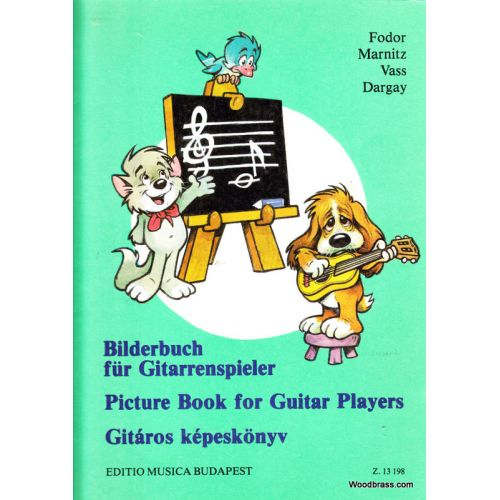 EMB (EDITIO MUSICA BUDAPEST) PICTURE - BOOK FOR GUITAR PLAYERS - GUITARE
