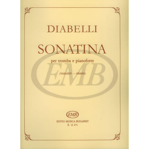 EMB (EDITIO MUSICA BUDAPEST) DIABELLI - SONATINA OP.151 N 1 - TRUMPET AND PIANO