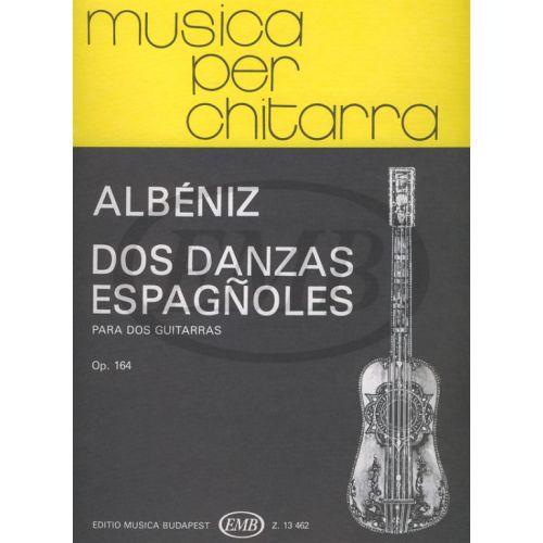 EMB (EDITIO MUSICA BUDAPEST) ALBENIZ - 2 DANSES ESPAGNOLES OP.164 - 2 GUITARES