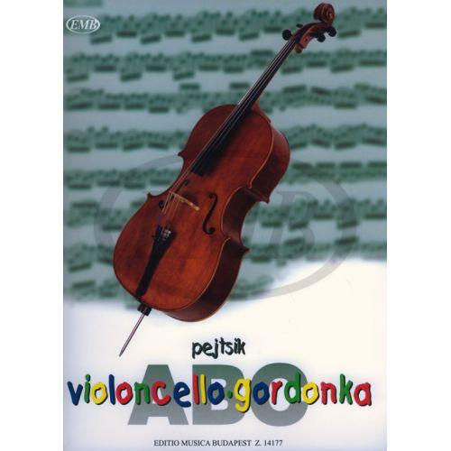 EMB (EDITIO MUSICA BUDAPEST) VIOLONCELLO ABC - VIOLONCELLE ET PIANO