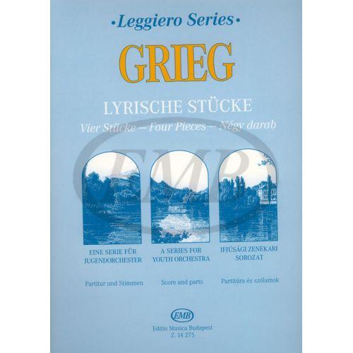 EMB (EDITIO MUSICA BUDAPEST) GRIEG E. - LYRISCHE STUCKE - STRING ORCHESTRA