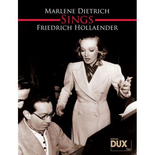 EDITION DUX MARLENE DIETRICH SINGT FRIEDRICH HOLLAENDER
