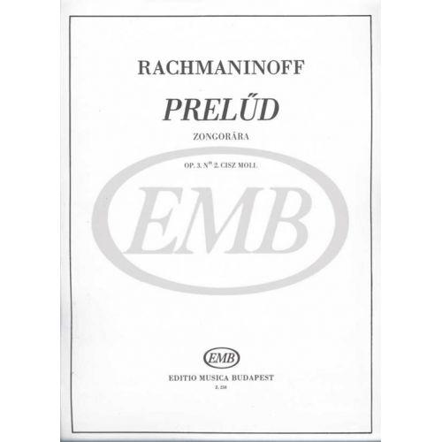 EMB (EDITIO MUSICA BUDAPEST) RACHMANINOV S. - PRELUDIO OP. 3 N. 2 - PIANO