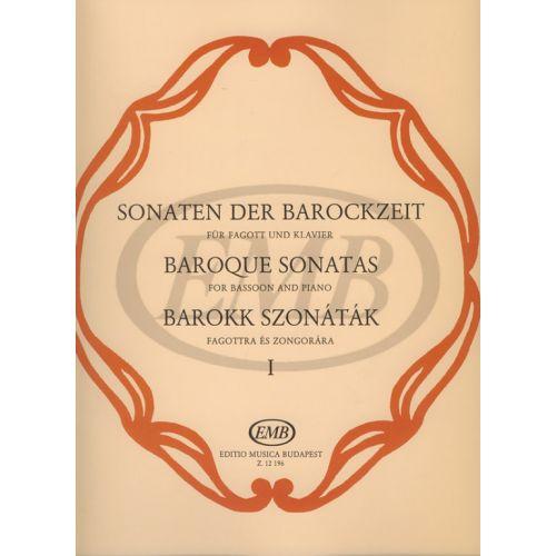 EMB (EDITIO MUSICA BUDAPEST) ALBUM - SONATE BAROCCHE VOL. 1 - BASSON ET PIANO