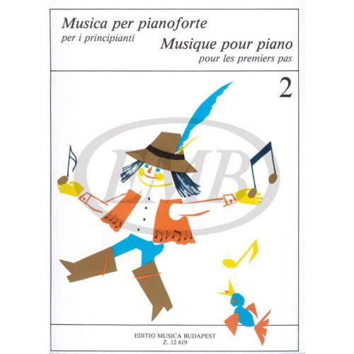 EMB (EDITIO MUSICA BUDAPEST) MUSICA PER PIANOFORTE PER PRINCIPIANTI - PIANO