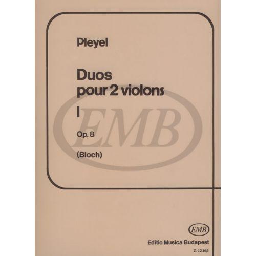 EMB (EDITIO MUSICA BUDAPEST) PLEYEL - DUOS VOL.1 OP.8 - 2 VIOLON