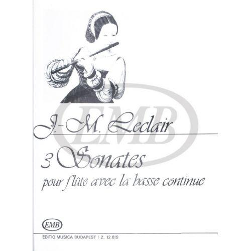 EMB (EDITIO MUSICA BUDAPEST) LECLAIR J.M. - SONATAS (6) - VIOLON