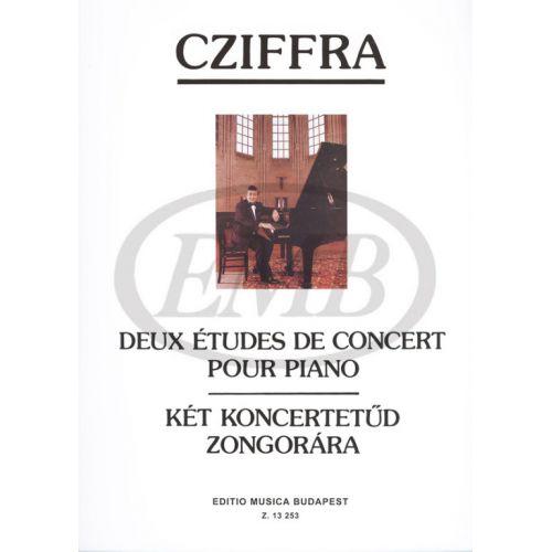 EMB (EDITIO MUSICA BUDAPEST) CZIFFRA G. - STUDI DA CONCERTO (2) - PIANO