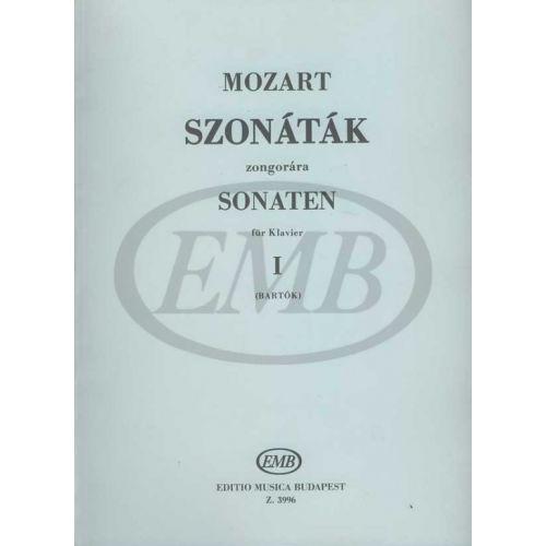 EMB (EDITIO MUSICA BUDAPEST) MOZART W.A. - SONATE VOL. 1 - PIANO