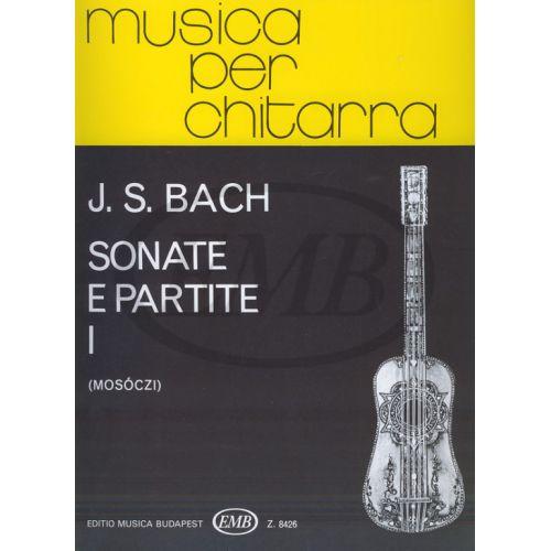 EMB (EDITIO MUSICA BUDAPEST) BACH J.S. - SONATE E PARTITE VOL. 1 - GUITARE