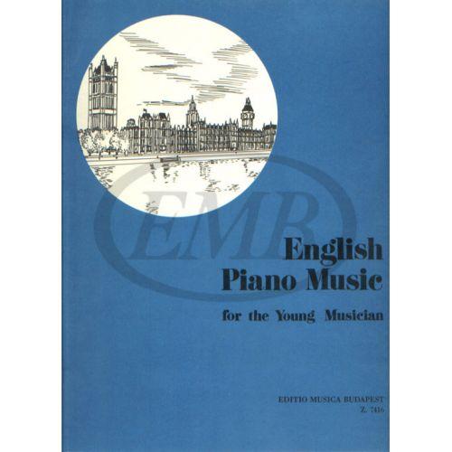 EMB (EDITIO MUSICA BUDAPEST) ENGLISH PIANO MUSIC