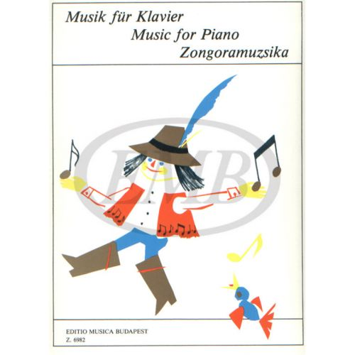 EMB (EDITIO MUSICA BUDAPEST) PIANO MUSIC FOR BEGINNERS 2 - PIANO