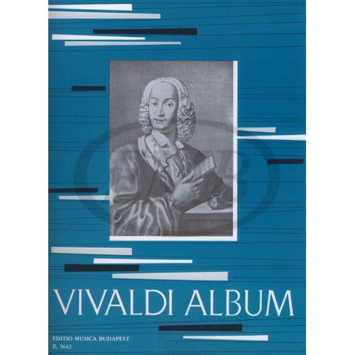 EMB (EDITIO MUSICA BUDAPEST) VIVALDI A. - ALBUM FOR VIOLIN AND PIANO