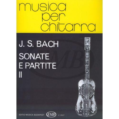 EMB (EDITIO MUSICA BUDAPEST) BACH J.S. - SONATE E PARTITE VOL. 2 - GUITARE