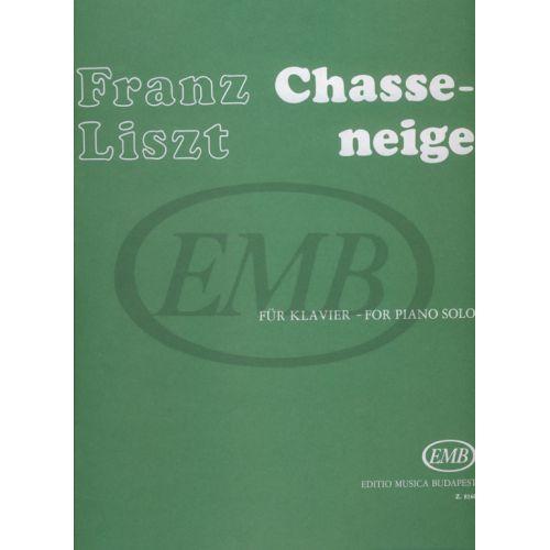 EMB (EDITIO MUSICA BUDAPEST) LISZT F. - CHASSE NEIGE - PIANO