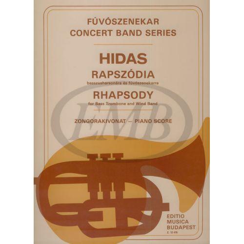 EMB (EDITIO MUSICA BUDAPEST) HIDAS - RHAPSODIE - SCORE