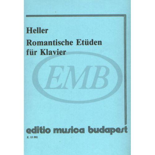 EMB (EDITIO MUSICA BUDAPEST) HELLER S. - STUDI ROMANTICI - PIANO