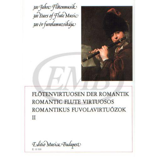 EMB (EDITIO MUSICA BUDAPEST) ALBUM - ROMANTICI VIRTUOSI DEL FLAUTO, VOL. 2 - FLUTE ET PIANO