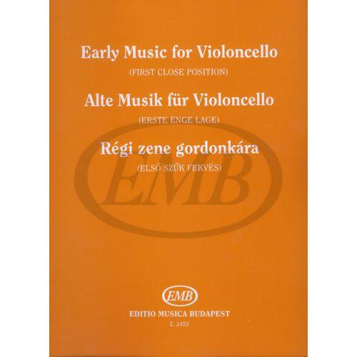 EMB (EDITIO MUSICA BUDAPEST) OLD MUSIC - VIOLONCELLE ET PIANO
