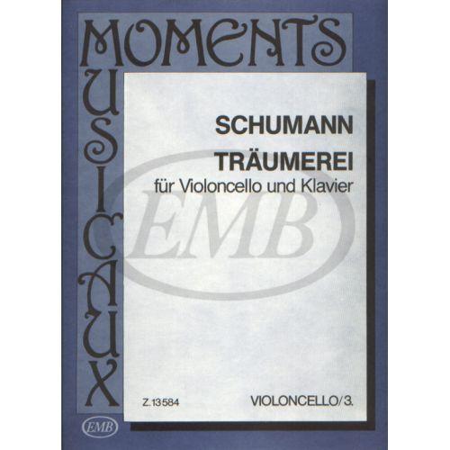 EMB (EDITIO MUSICA BUDAPEST) SCHUMANN R. - SOGNO - VIOLONCELLE ET PIANO