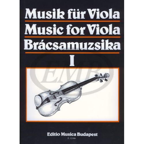 EMB (EDITIO MUSICA BUDAPEST) MUSICA PER VIOLA VOL. 1 - ALTO