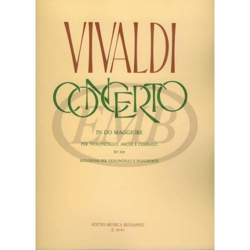 EMB (EDITIO MUSICA BUDAPEST) VIVALDI - CONCERTO IN DO MAGGIORE - CELLO AND PIANO