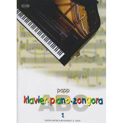 EMB (EDITIO MUSICA BUDAPEST) PAPP LAJOS - PIANO ABC VOL.1